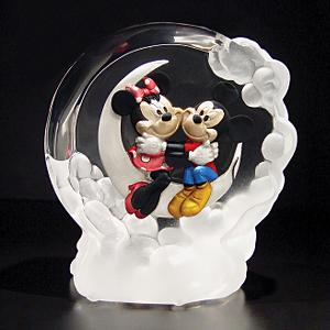 Mickey and Minnie Globe