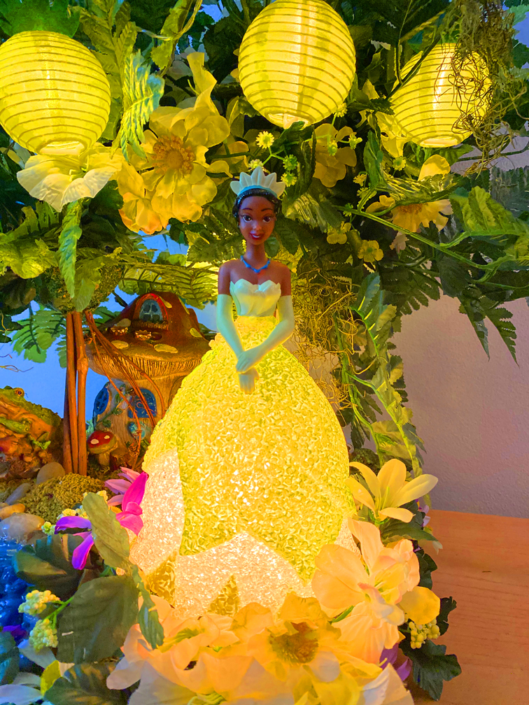 Princess Tiana Centerpiece