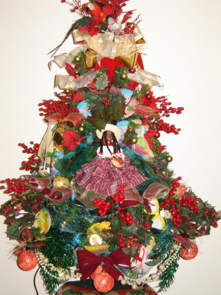 Caribbean Theme Christmas Tree