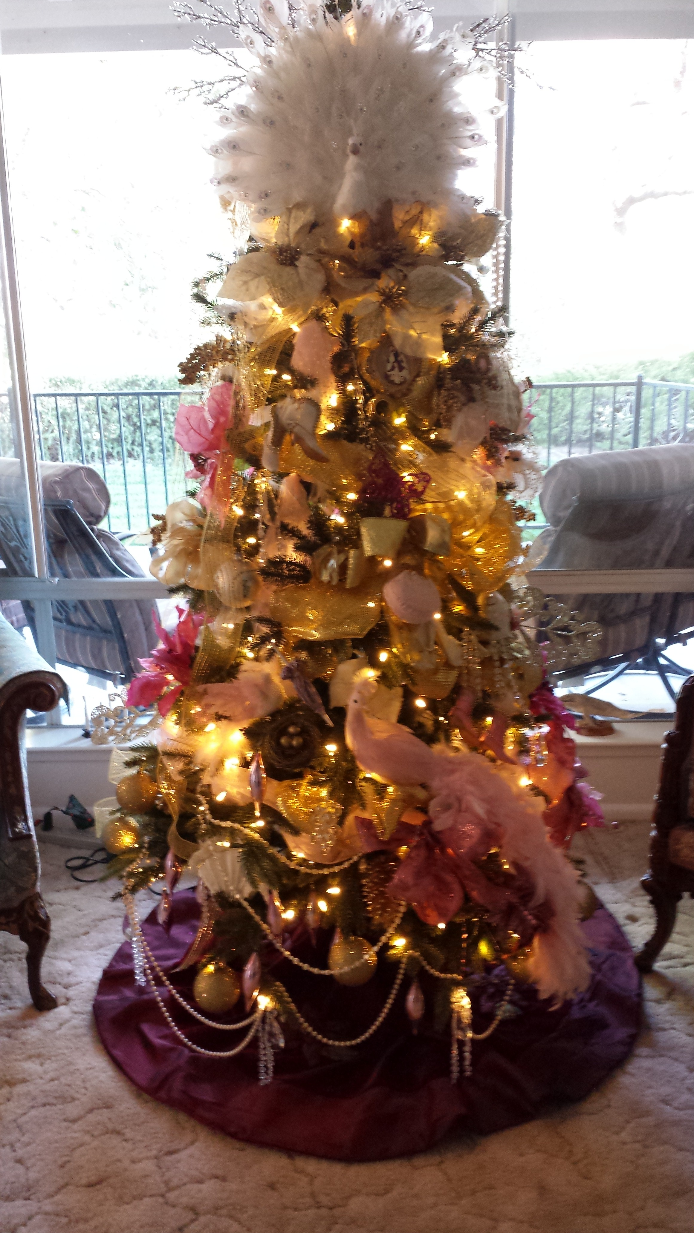 Royal Victorian Crystal Tree 6f